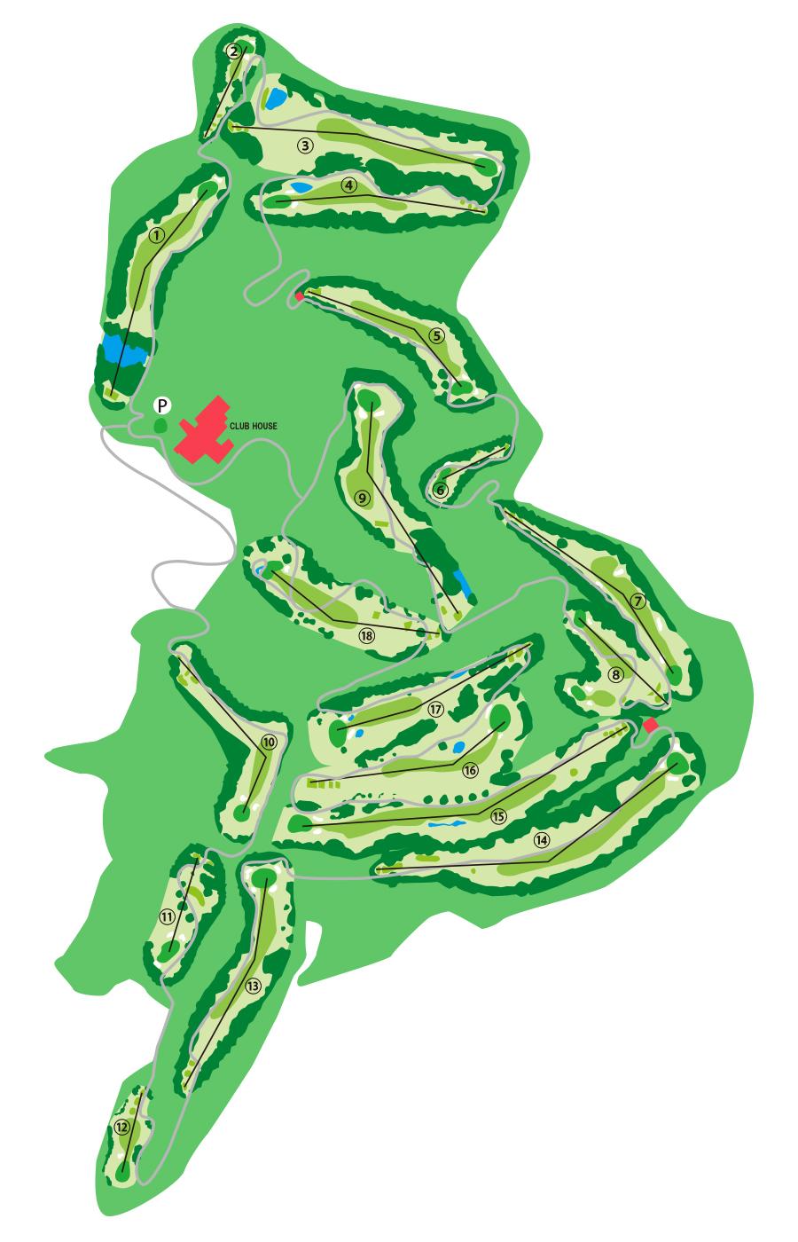 コース ときわ台 チェリー ゴルフ